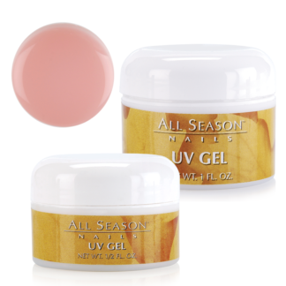 Розовый моделирующий УФ-гель All Season UV Gel Pink 15g