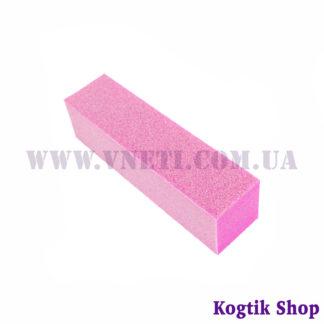 Шлифовочный бафик 120 грит (розовый)
