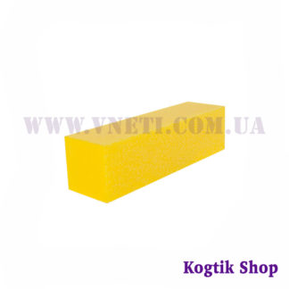 Бафик шлифовочный 120 грит (желтый)