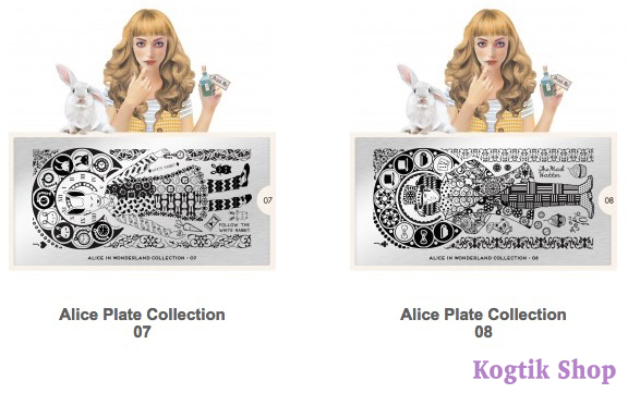 Alice Stamping Plate Collection MoYou London 07 08