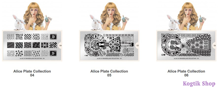 Alice Stamping Plate Collection MoYou London 04 05 06