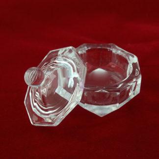 Стаканчик для мономера с крышкой (стекло)