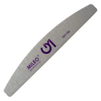 Пилка для ногтей Mileo 180/180