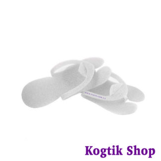 Тапочки-вьетнамки для педикюра одноразовые 5 мм. пенополиэтилен