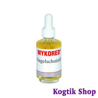 Противогрибковое масло для ногтей Lütticke Mykored Nagelschutzöl (Германия) 50мл, с пипеткой.