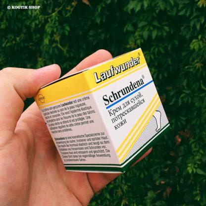 Крем для сухой, потрескавшейся кожи Schrundena Laufwunder Lütticke 75 мл., Германия.