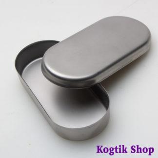 Лоток с крышкой из стали для фрез и насадок ЛС2