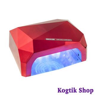 """LED+CCFL Лампа 36 Ватт """"кристалл"""" (красная)"""