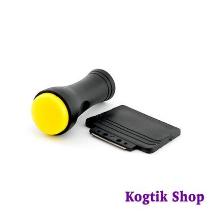 Классический штамп для стемпинга (желтый).