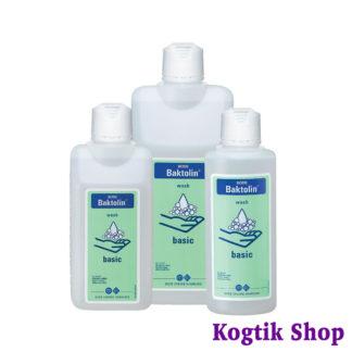 Cредство для мытья кожи рук и тела Бактолин пур (Baktolin pure) BODE 500мл., Германия.
